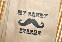 Moustache Party Ideas / Cute birthday party ideas and decorations inspired by the humble moustache!