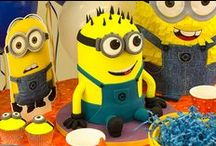 Minion Party Ideas / Browse our minion party ideas for a Despicable Me themed birthday party!
