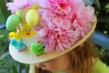 Easter Bonnet Decorating Ideas / Find loads of ideas for decorating your Easter bonnet with creative ideas for both girls and boys!