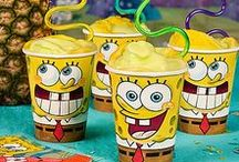 SpongeBob SquarePants Party Ideas / Who...... lives in a pineapple under the sea?