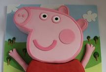 Peppa Pig Party Ideas / Tonnes of ideas for a Peppa Pig birthday party jumping in muddy puddles!