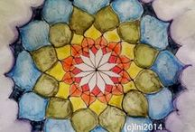 Energy Drawing, Painting, Ideas, Tips / Much of my energy jewelry lately starts out as a mindful drawing or painting. Inktense, Tombow, Sakura, Fountain Pen Ink, Let's see inspirations, tips, ideas here.