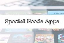 Special Needs Apps / special needs apps that will help many children and adults learn in a new way.