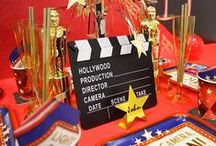 Movie Party Ideas / Celebrate the Oscars with a glamorous Hollywood party! Take a look at our collection of movie party ideas for inspiration.
