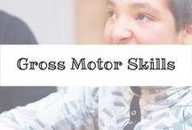 Gross Motor Skills / Building strong #grossmotor skills is an absolute must for any #specialneeds child.  Find great tips and tricks here.