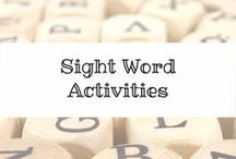 Sight Word Activities / #SightWords can be tricky to learn.  This board is dedicated to helping you teach them to your #specialneeds kiddo!