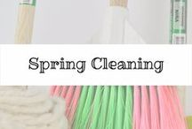 Spring Cleaning / Tips and the benefits to spring cleaning. It's not just about organizing your stuff. #springcleaning #organization