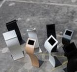 Impact iPad floor stand / Designed by GrapeDesign