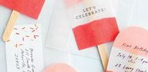 Party : *Einladungen & Mitgebsel* / Keine Party ohne passende Einladung oder gar Mitgebsel in Form von hübschen Goldie Bags. Vielfältige Ideen findet ihr hier.