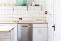 Interior : *Kitchen* / Wohninspiration für eine offene, großzügige und schöne Familienküche.