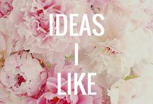 Ideas I like / Any crazy idea I want to try