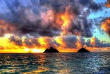"Beautiful Scenary ☀️ / ""Nature always wears the colors of the spirit."" - Ralph Waldo Emerson / by Janessa Nishida"