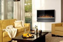 Electric Fireplaces in Real Homes / Some examples of how electric fireplaces have been used in the homes of our customers across the country.
