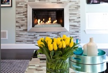 New Ideas for Electric Fireplaces / Use our electric fireplace resources as inspiration to make your home warmer and cozier!