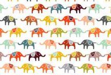 Fabrics for boys / fun and funky fabrics for boys