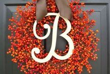HOLLA-ween & fall / by Bonnie Spinks {BonnieBrands.com}