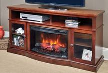 Great Gift Ideas / The perfect gift is hard to find. Consider an electric fireplace, which will provide supplemental heat and ambiance the whole family can enjoy.