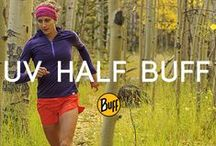 UV Half BUFF® / There's nothing halfway about this Buff® headgear except its size. Great for cyclists, runners, and yogis, it offers outstanding sun protection and moisture wicking capabilities without any extra bulk.
