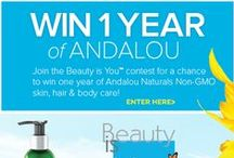 Andalou Contests & Promotions