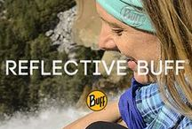 Reflective BUFF® / Enjoy the versatility of Buff® original headgear with the addition of two retro-reflective 3M Scotchlite™ tape strips. Don't go running at dusk without it.