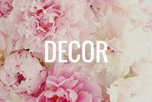 Decor  / Home decor I love!