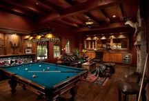 Man Cave / Products and ideas to build the ultimate man cave. From life in the garage to leather furniture, get inspired to make your domain a bit more manly.