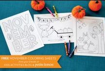 Homeschooling - Seasonal / Seasonal and holiday homeschooling projects, ideas, and resources for young homeschoolers.