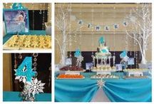 Frozen Party / Kinley 4th birthday party