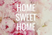 Home Sweet Home / All of my home inspirations