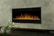 Save Money and Save Energy with Electric Fireplaces / 100% energy efficient, electric fireplaces are good for your wallet and the environment!