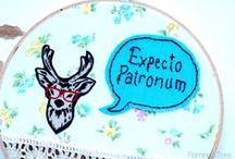 Embroidery & Cross Stitch / A mix of free and paid for cross stitch and embroidery patterns