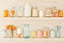 Mason Jar / The Many Uses & Ideas for The Mason Jar ♡ / by Emily Malone