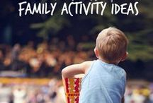 family fun / Planning a game night? Need ideas for hanging out with the kids? From road trips to spending time at home, keep the family connected with these fun activities!