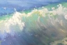 ON MY EASEL by Carol Schiff Studio / What did I paint today?