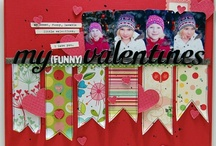 Scrapbooking Layouts I / My very own scraplifting database! / by Alaena Helt