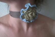 Maria Vinagre - Os meus trabalhos / gosto de crochet e de reciclagem e tento misturar as duas coisas...