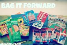 Bag it Forward / Join the #BagitForward movement! www.bagitforward.org