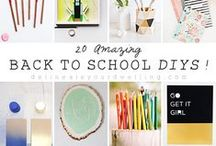 back to school / Follow this board for fabulous back to school ideas. Get creative back to school party ideas, crafts for school, teacher gift ideas, school lunch ideas, easy breakfast ideas for kids, and much more!  / by SoFabLife