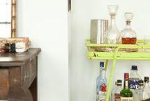 Bar / Thanks Madmen for Bringing Back Bar Carts♡ / by Emily Malone