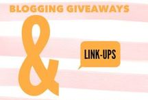 Blogging Giveaways & Link-ups
