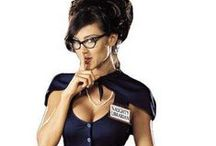 """That """"naughty librarian"""" trope... / by Rosemary Hathaway"""