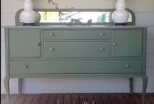 Furniture Restoration / Ideas & Tips for Painting, Staining & Reusing Furniture. ♡ / by Emily Malone