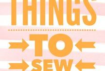 Things to Sew