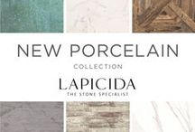 Porcelain Collection / 36 stunning new beautiful and incredibly hardwearing tiles from the exclusive Porcelain floor and wall tile collection that's taken 2 years to painstakingly curate.