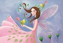 Fairies and Fantasy / Lovely fairy items I adore, fairy art, and fantasy finds. / by FairyLynne