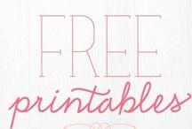 Free Printables / Free Printables, Font and the like!