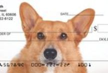 Dogs / Dog breed checks, dog and puppy party supplies, and dog posters, and other dog merchandise. / by FairyLynne
