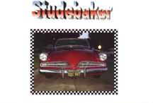 """Studebaker / In 1953, Studebaker was redesigned by Robert Bourke, from Raymond Loewy's design studio. The two-door coupé was called the """"Starlight"""", while the more expensive hardtop coupé was called the """"Starliner"""". The front end of the new Studebaker was lower than contemporaries. No convertible was offered in 1953. / by Kevin Tanaka"""