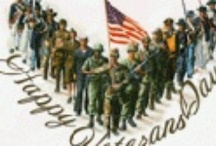 Veterans Day / Honoring the brave men and women who have served in the armed services. It is celebrated on November 11.
