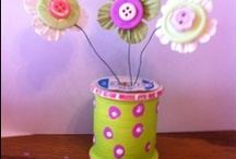 wooden spools/ clothes pins/embroidery hoops &rulers